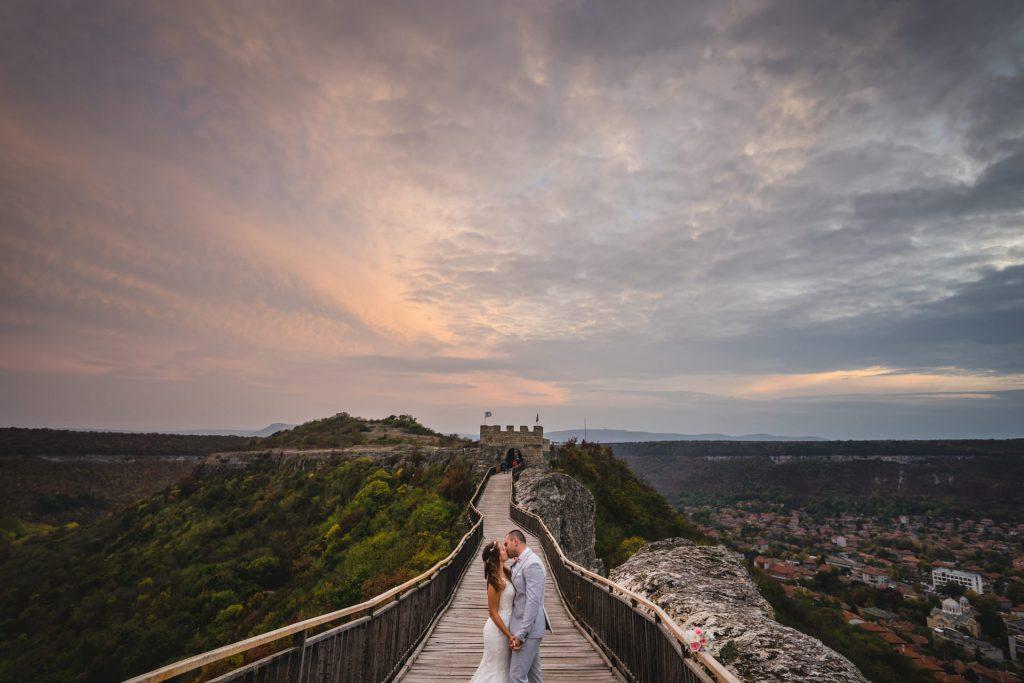 сватбени снимки крепост овеч