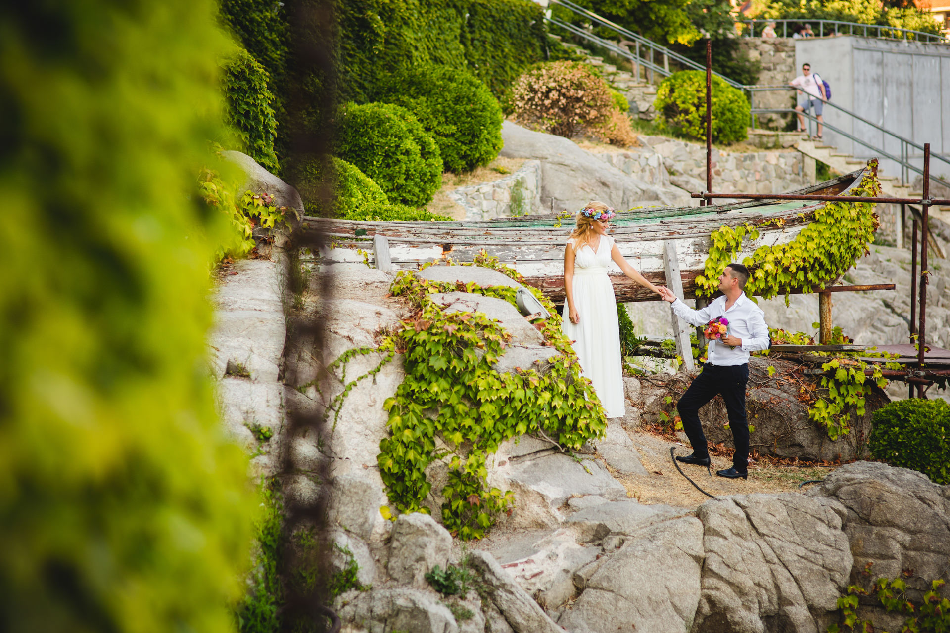 сватбени снимки созопол